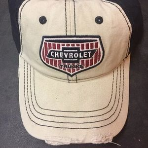 Chevrolet Trucks Distressed Hat Cap NWT